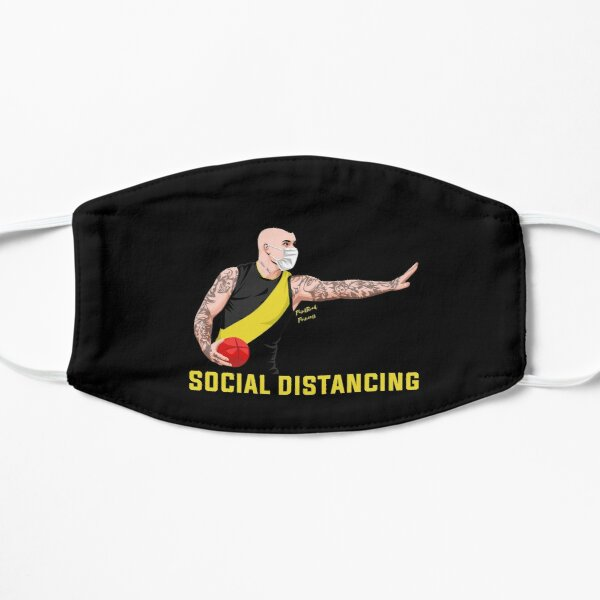 Don't Argue with Dusty Social Distancing Mask