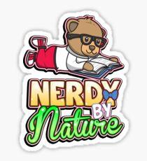 Nerdy By Nature Sticker