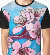 Spring Blooms ~ Cherry Blossoms Graphic T-Shirt