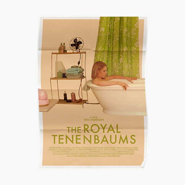 The Royal Tenenbaums Film Alt-Poster Poster