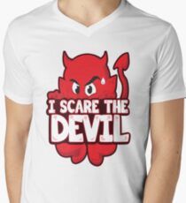 I Scare The Devil Men's V-Neck T-Shirt