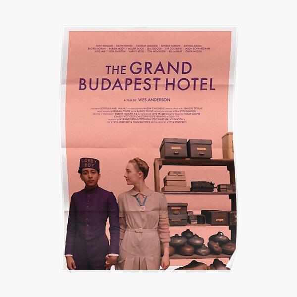 Affiche du film du Grand Budapest Hotel Poster