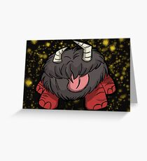 Nightmare Chester, Don't starve Greeting Card