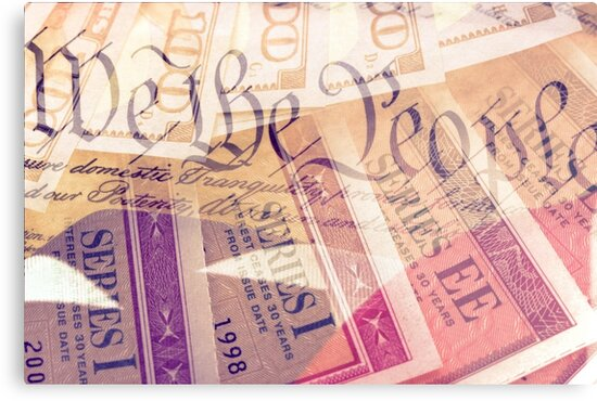 Double exposure finance and government concept by larry1235