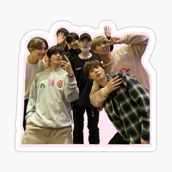 BTS mirror selfie Sticker