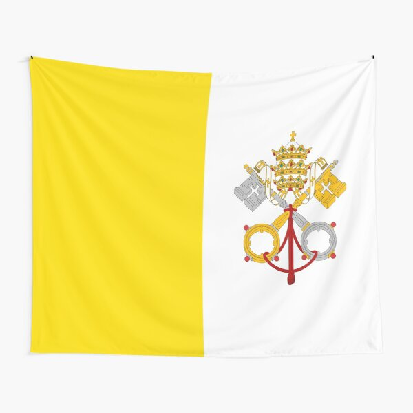 Flag of Vatican City - Flag of the Holy See Tapestry