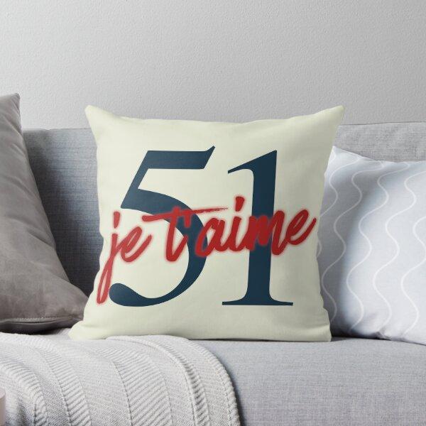 51 je t'aime Coussin