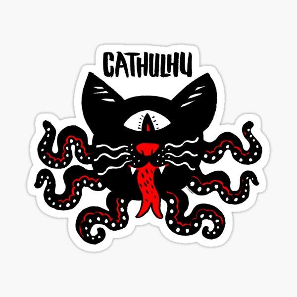 Cathulhu Sticker