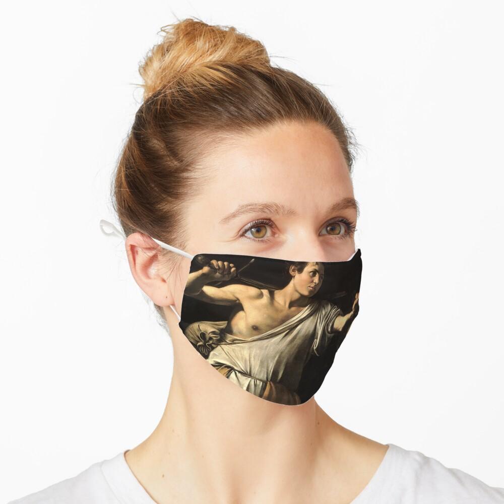 David Against Goliath - Pray For Paris - caravaggio Mask