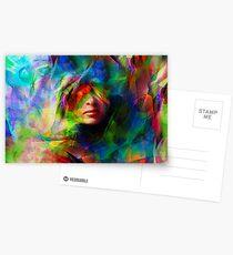A Colored Dream Postcards