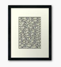Burgundy Bill Framed Print