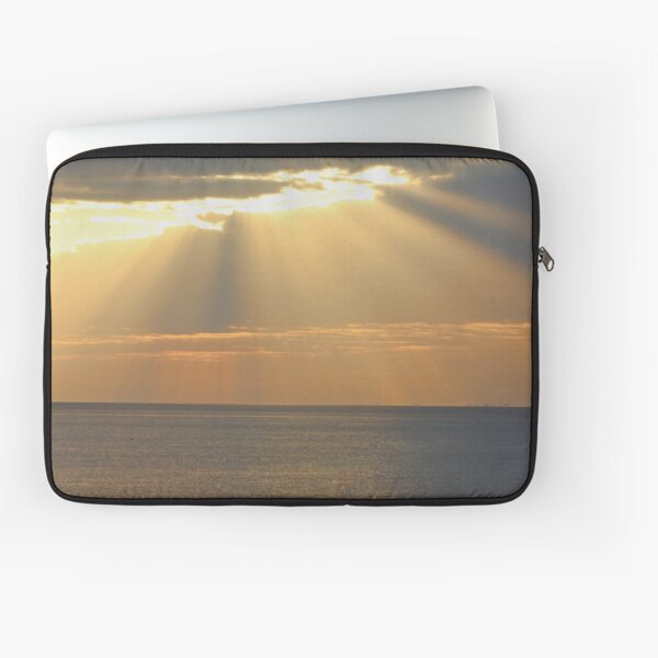 Sunset over the sea Laptop Sleeve