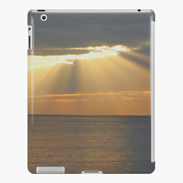 Sunset over the sea iPad Snap Case