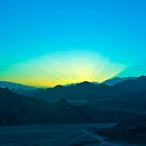 Sunset at Sinai by Tsitra