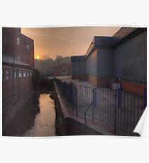 New Road, Kidderminster, sunrise Poster