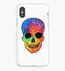 Tie Dye Skull iPhone Case/Skin