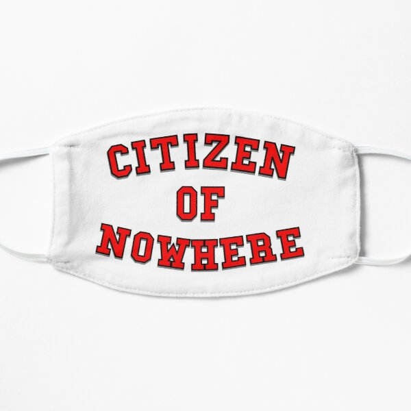 Citizen of Nowhere- Red Small Mask