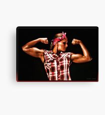 The Riveter Canvas Print