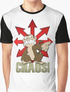 Chaos Monkey New Graphic T-Shirt