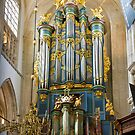 Breda Cathedral organ - vertical by Jenny Setchell