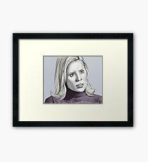 Entropy - Anya Jenkins - BtVS S6E18 Framed Print