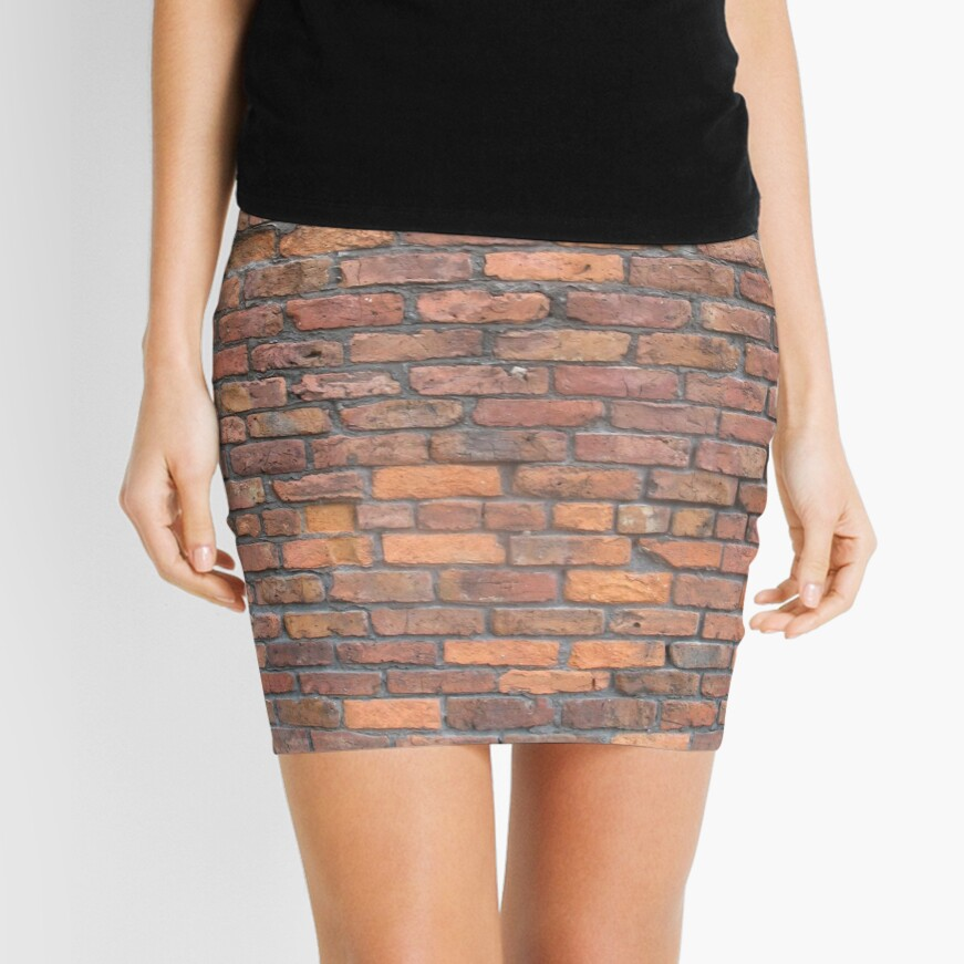 Bricks Mini Skirt