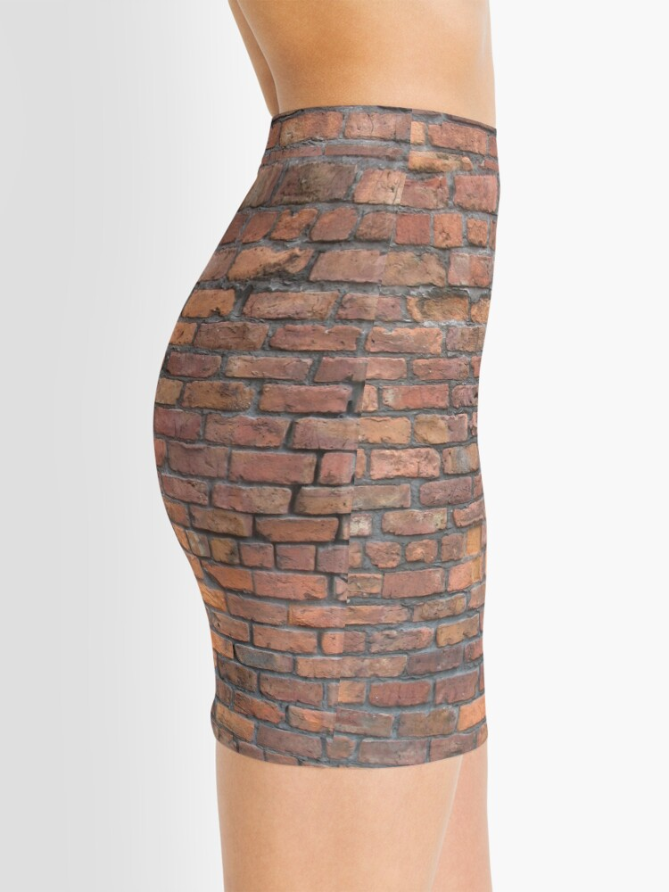 Alternate view of Bricks Mini Skirt