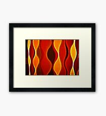 Kathie McCurdy Abstract Flame Framed Print