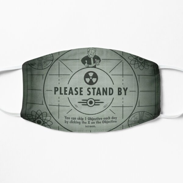 Fall Out Shelter: Stand By Flat Mask