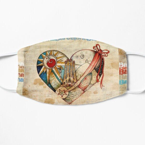 Barcelona Spirit - Vintage Flat Mask