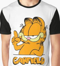 Garfield Presents Funny Graphic T-Shirt