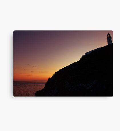Mull of Galloway Sunset Canvas Print