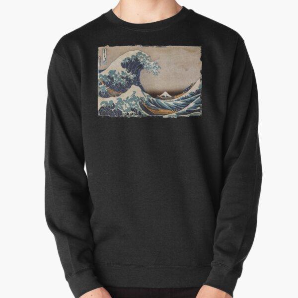 The Great Wave off Kanagawa Pullover Sweatshirt