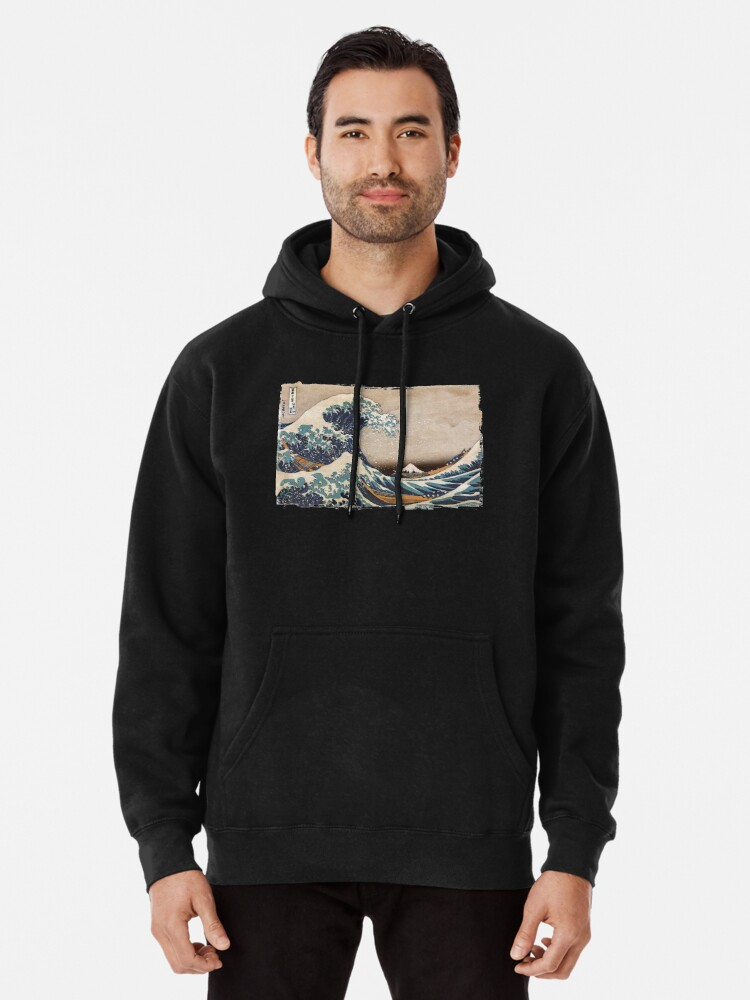 Alternate view of The Great Wave off Kanagawa Pullover Hoodie