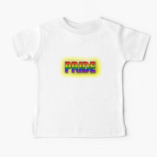 Rainbow PRIDE - Yellow Baby T-Shirt