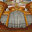 Pipe organ, Switzerland by Jenny Setchell