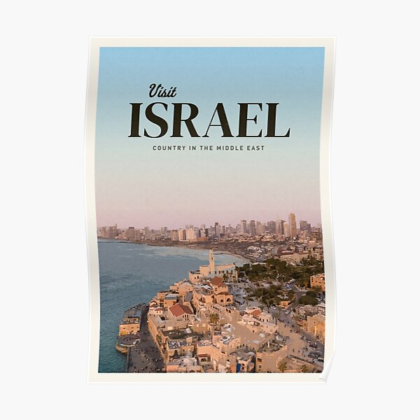 Visit Israel Poster