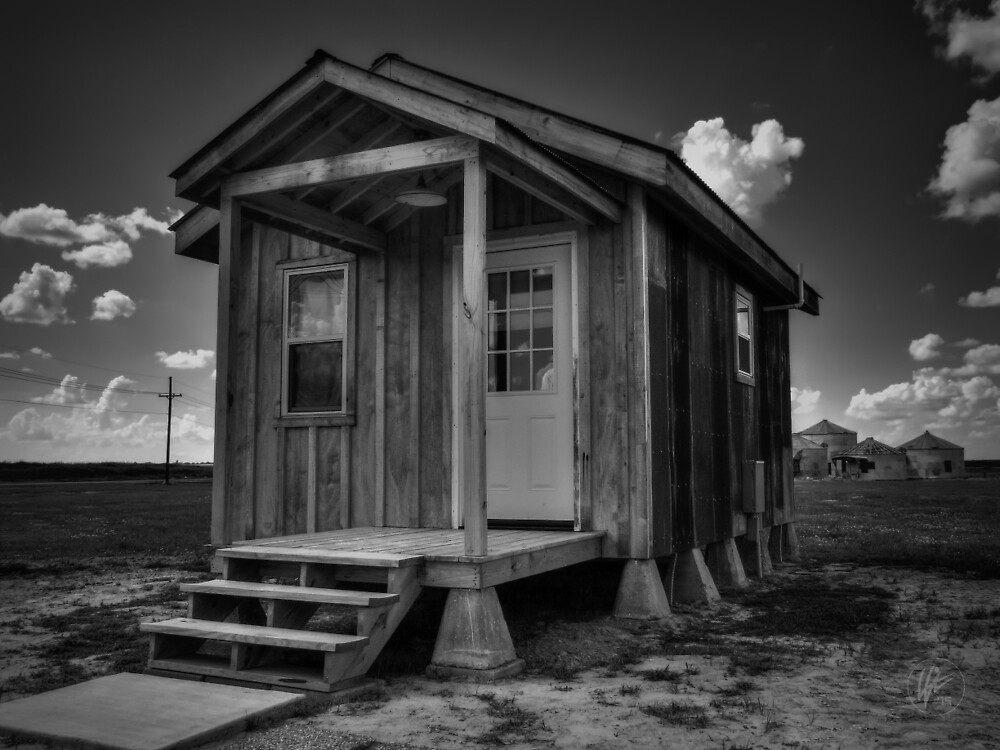 Clarksdale - Shack Up Inn 002 BW by Lance Vaughn