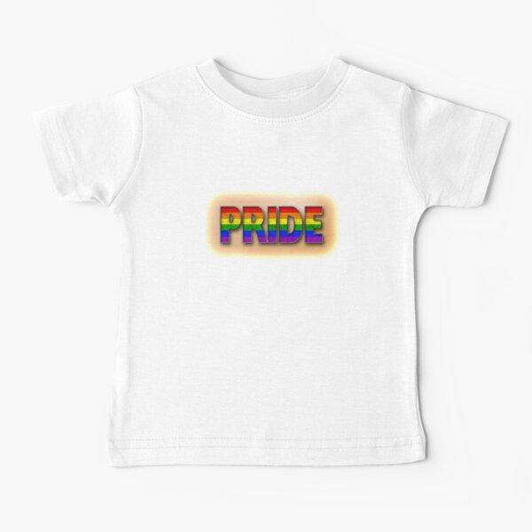 Rainbow PRIDE - Orange Baby T-Shirt