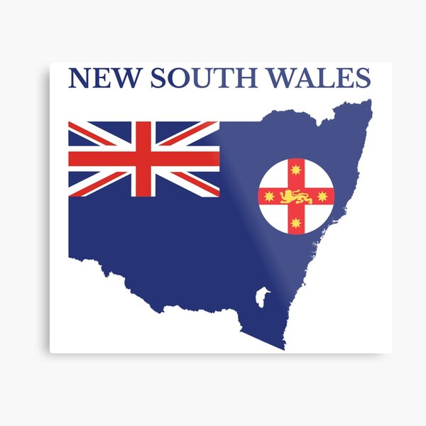 New South Wales, Australian State Metal Print