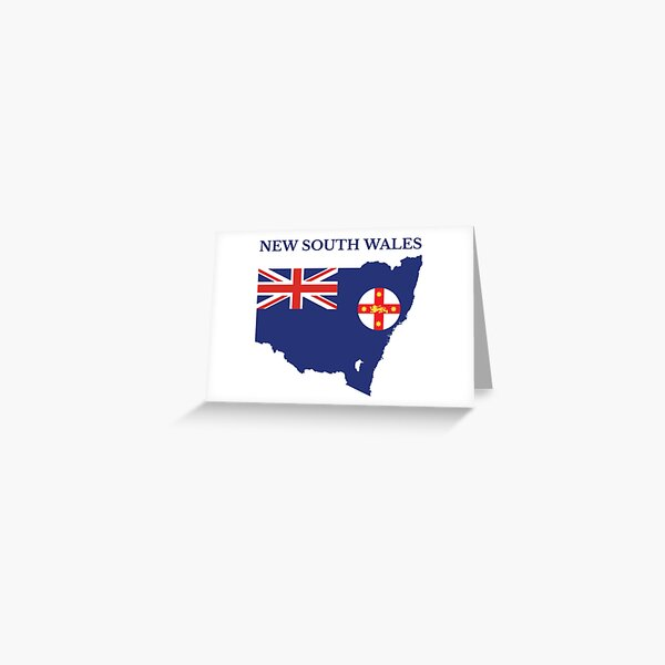 New South Wales, Australian State Greeting Card