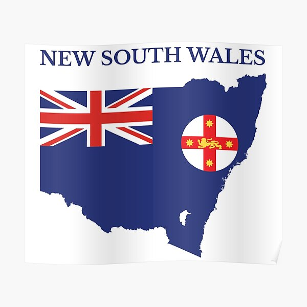 New South Wales, Australian State Poster