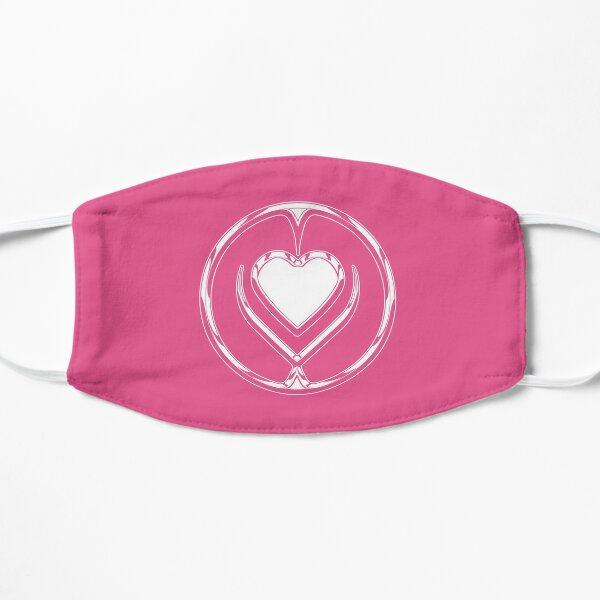 Logo Gaga Stupid Love Chromatica (Chrome blanc / rose) Masque sans plis