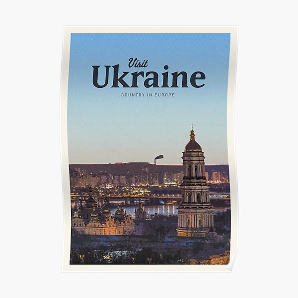 Visit Ukraine  Poster