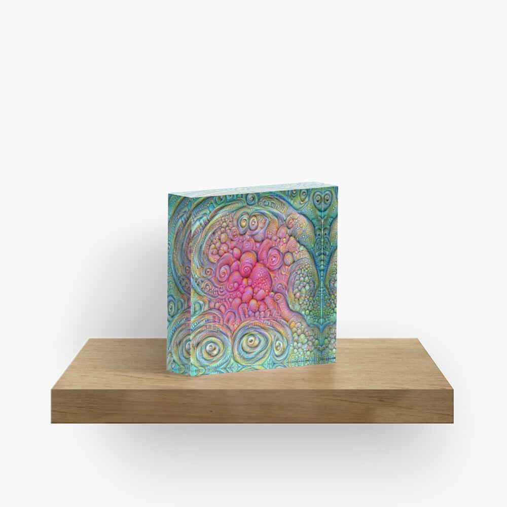 State of matter — Mesophase #DeepDream Acrylic Block