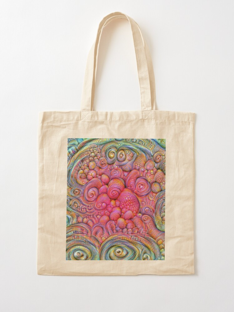 Alternate view of State of matter — Mesophase #DeepDream Tote Bag