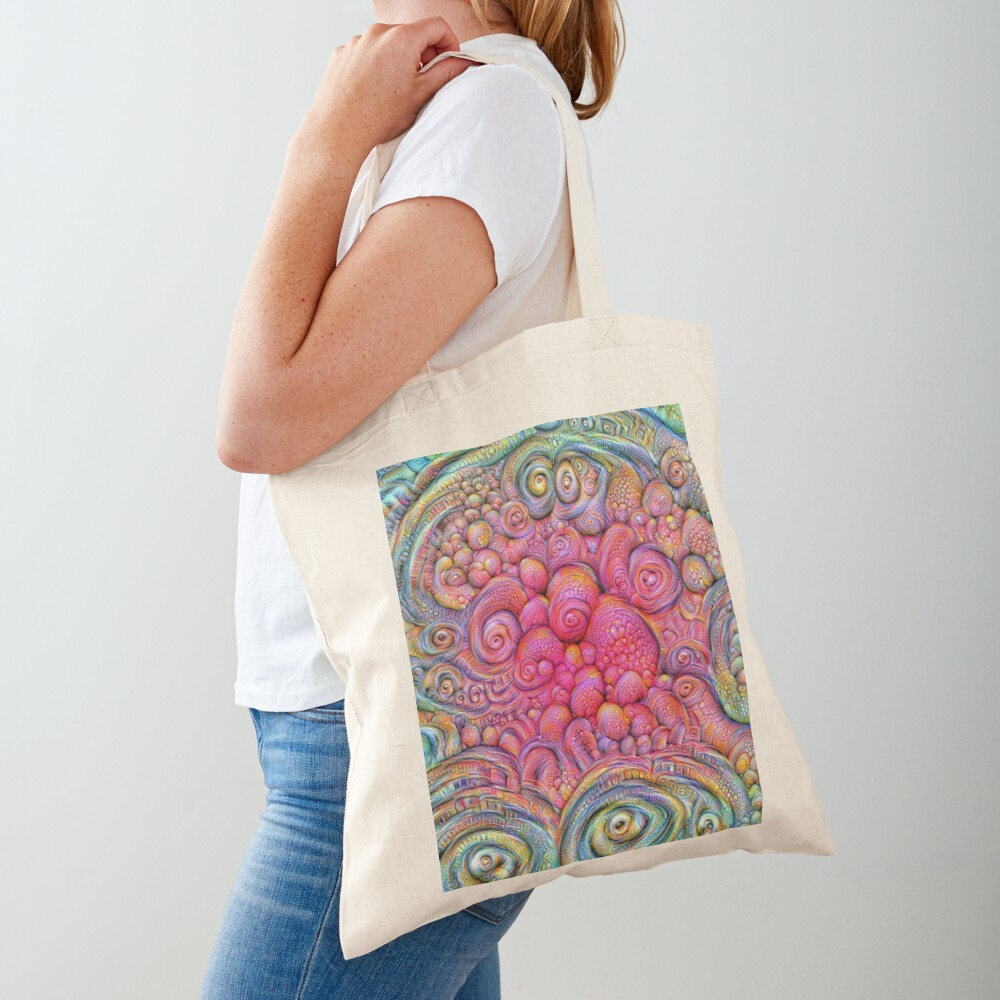 State of matter — Mesophase #DeepDream Tote Bag