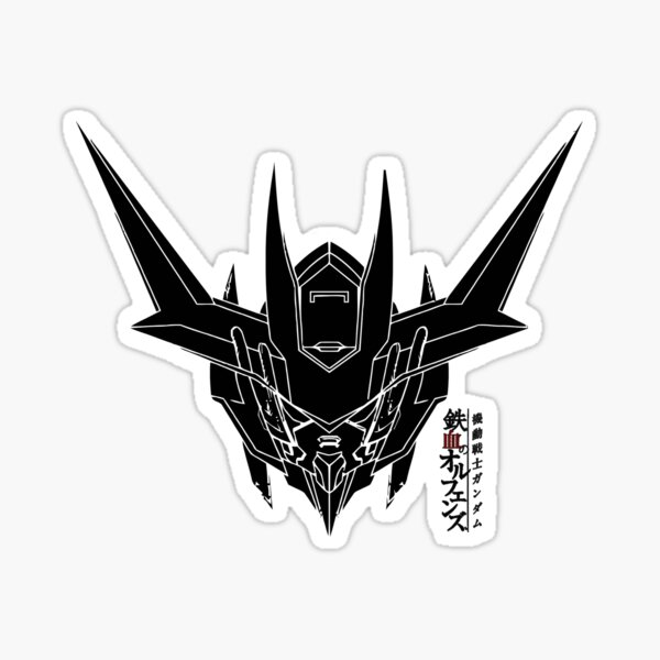 Gundam Barbatos Iron Blooded Orphans Orga Itsuka Mobile SuitGundam Mecha Transformers Sticker