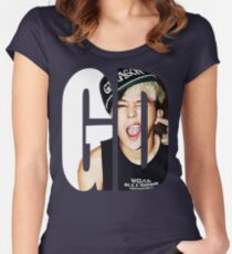 G-Dragon Women's Fitted Scoop T-Shirt