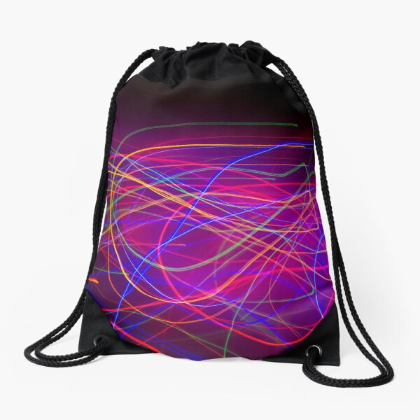 Electric Love triple C Drawstring Bag